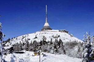 Zima pod Ještědem: polopenze v penzionu Horka