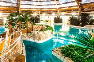 Neomezené termální lázně Őrség v luxusním hotelu Gotthard Therme**** s polopenzí