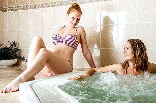 Hotel Adamantino *** u Luhačovické přehrady s neomezeným wellness a polopenzí