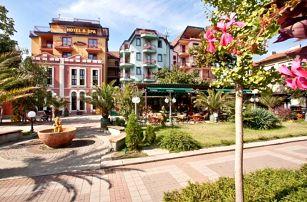 Bulharsko, Pomorie, letecky na 8 dní