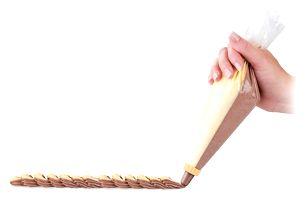 Tescoma DELÍCIA dvojitý zdobící sáček 30 cm, 10 ks