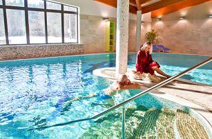 Zážitkové Beskydy ve 4* hotelu nedaleko města Rožnov pod Radhoštěm s neomezeným vstupem do wellness zóny a polopenzí