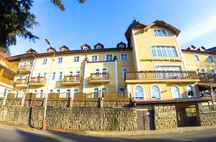Lázeňský pobyt v Luhačovicích s polopenzí, bazénem a možností procedur