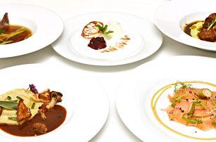 5chodové degustační menu u Karlova mostu pro dva