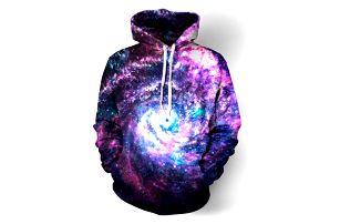 Unisex mikina s motivy galaxie - 20 variant