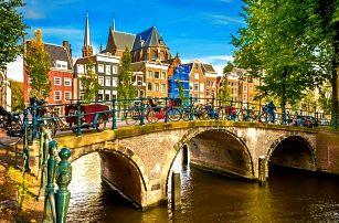 3denní zájezd pro 1 do Amsterdamu a za větrnými mlýny do skanzenu Zaanse Schans
