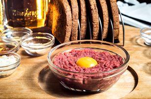 150 nebo 300 gramů tataráku dle vaší chuti