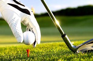 Poprvé na golfu: výuka s trenérem i volná hra
