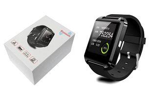 Bluetooth hodinky SmartWatch v černé a bílé barvě
