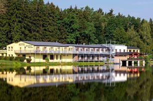 Hotel Knížecí rybník na okraji Tábora s wellness a polopenzí