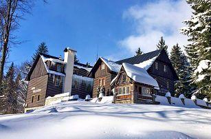 Špindlerův Mlýn v zimě nebo na jaře v hotelu se saunou a polopenzí, i s bobovou dráhou či slevou na skipas
