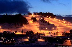 Super lyžovačka v Pieninách s 1-denním skipasem a neomezeným wellnessem v hotelu Eland***