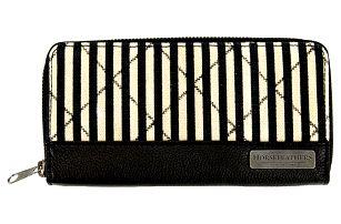 Peněženka Horsefeathers Kasey stripes