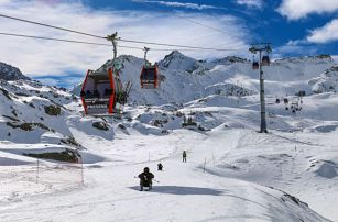 Hotel Al Maniero - 5denní lyžařský balíček se skipasem a dopravou v ceně, Passo Tonale, Itálie, autobusem, polopenze