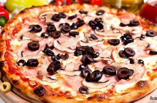 Skvělá italská pizza výběrem z 10 druhů, ⌀ 32 cm