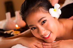 Thajská masáž dle výběru vč. aroma lázně