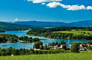 Zima a jaro u Lipenské přehrady s wellness