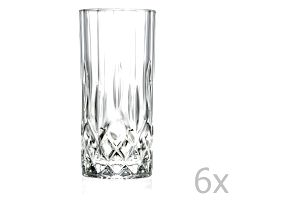 Sada 6 sklenic RCR Cristalleria Italiana Jemma