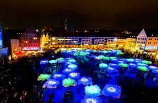 Modrá noc: busem na festival v Norimberku