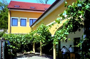 Jižní Morava - vinařský pobyt pro dva v hotelu Weiss ***. polopenze, neomezená konzumace sud. vín.