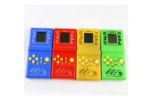 Retro herní konzole Tetris