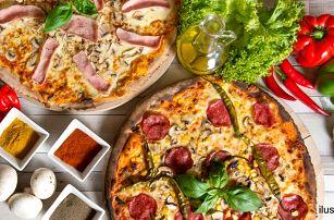 2 pohádkové pizzy ze 23 druhů s rozvozem po Brně