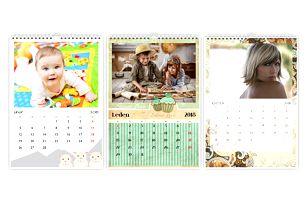 Nástěnný fotokalendář A4, A3 nebo XXL