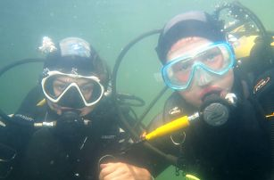 Dárek pro milovníky vody: 1denní zkušební ponor