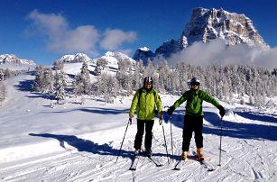 Velikonoční lyžování v Civettě - hotel Savoia - skipas na 4 dny a autobusová doprava v ceně, Dolomiti Superski, Itálie, autobusem, polopenze