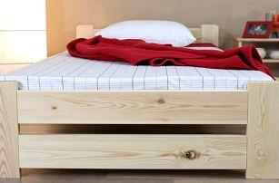Masivní dřevěná postel Verona včetně roštu