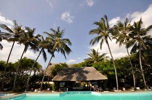 Keňa, Kilifi, letecky na 9 dní all inclusive