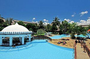 Keňa, Diani Beach, letecky na 9 dní polopenze