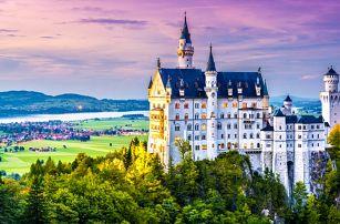 1denní zájezd pro 1 na zámky Neuschwanstein a Linderhof v Německu