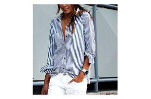 Dámská proužkovaná košile Laera