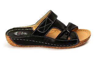 Dámské zdravotní pantofle KOKA 8 černé