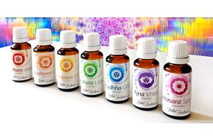 Čakrové oleje pro rovnováhu těla a duše