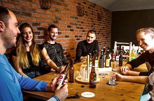 Degustace ciderů a nealko nápojů vč. výslužky