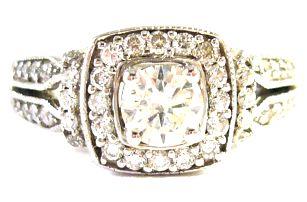 Luxusní zlaté starožitné briliantové prsteny, poštovné zdarma
