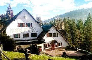 3–6denní pobyt pro 2 s polopenzí a odpolední kávičkou v hotelu Antýgl na Šumavě