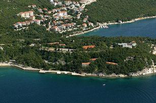 Chorvatsko - Crikvenica na 10 až 11 dní, polopenze s dopravou vlastní nebo autobusem