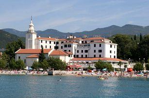 Chorvatsko - Crikvenica na 11 až 15 dní, polopenze s dopravou vlastní