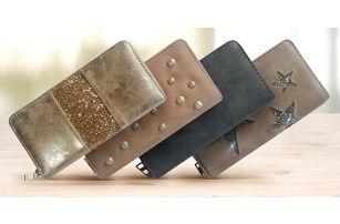 Dámské polodlouhé peněženky