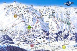 Rakousko, Oetztal: 2denní lyžování pro 2 dospělé + 2 děti