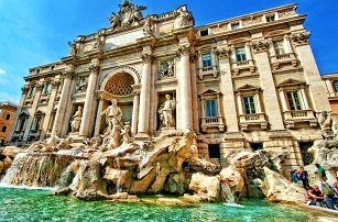 5denní zájezd za skvosty Itálie: Řím, Vatikán, Florencie, Verona a Benátky pro jednoho