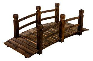 Tuin 1239 Dřevěný most 150 x 67 x 55 cm