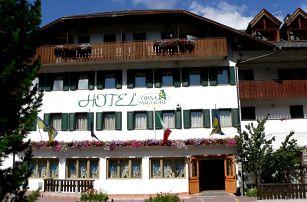 5denní Falcade se skipasem   Hotel Orsa Maggiore***   Doprava, ubytování, polopenze a skipas v ceně