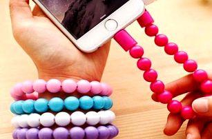 USB nabíjecí náramek v 5 barvách