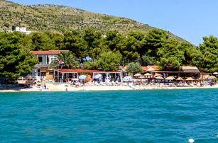 Chorvatsko - Trogir na 8 dní, polopenze s dopravou vlastní nebo letecky z Vídně