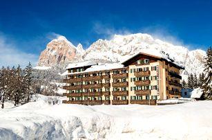 Itálie - Cortina d´Ampezzo na 4 až 6 dní, polopenze s dopravou vlastní