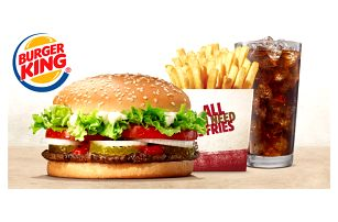 Burger King: XXL Whopper Menu nebo Chicken Box